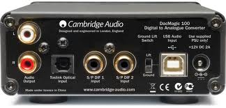 Cambridge Audio's compact DacMagic 100