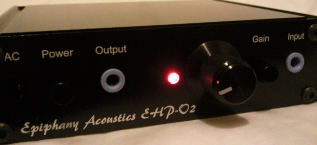Epiphany Acoustics - New Headphone Amp and Interconnects