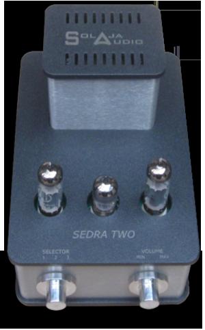 Solaja Audio Sedra 2 Amplifier and Sedra 2 Preamplifier