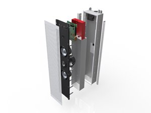 Meridian Audio to Introduce Three New Digital Active In-wall Loudspeakers