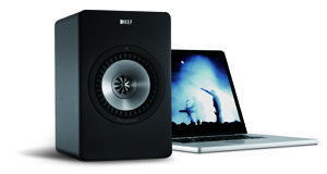 KEF X300A Active Loudspeakers and DAC
