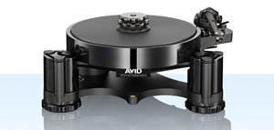 Avid Introduce Acutus Black Turntable