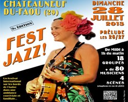 Fest Jazz in Brittany, France