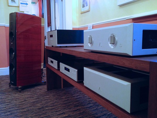 Clearaudio, Aesthetix, Sonus Faber and Tabula Rasa at Bath Audiofest 2013 - 06