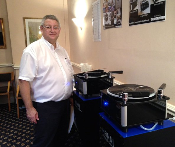 Paul Morris of Hannl at Cool Gales' Bath Audiofest 2013