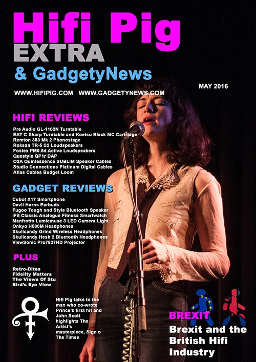 Hifi Pig Extra & GadgetyNews May 2016 Is Out