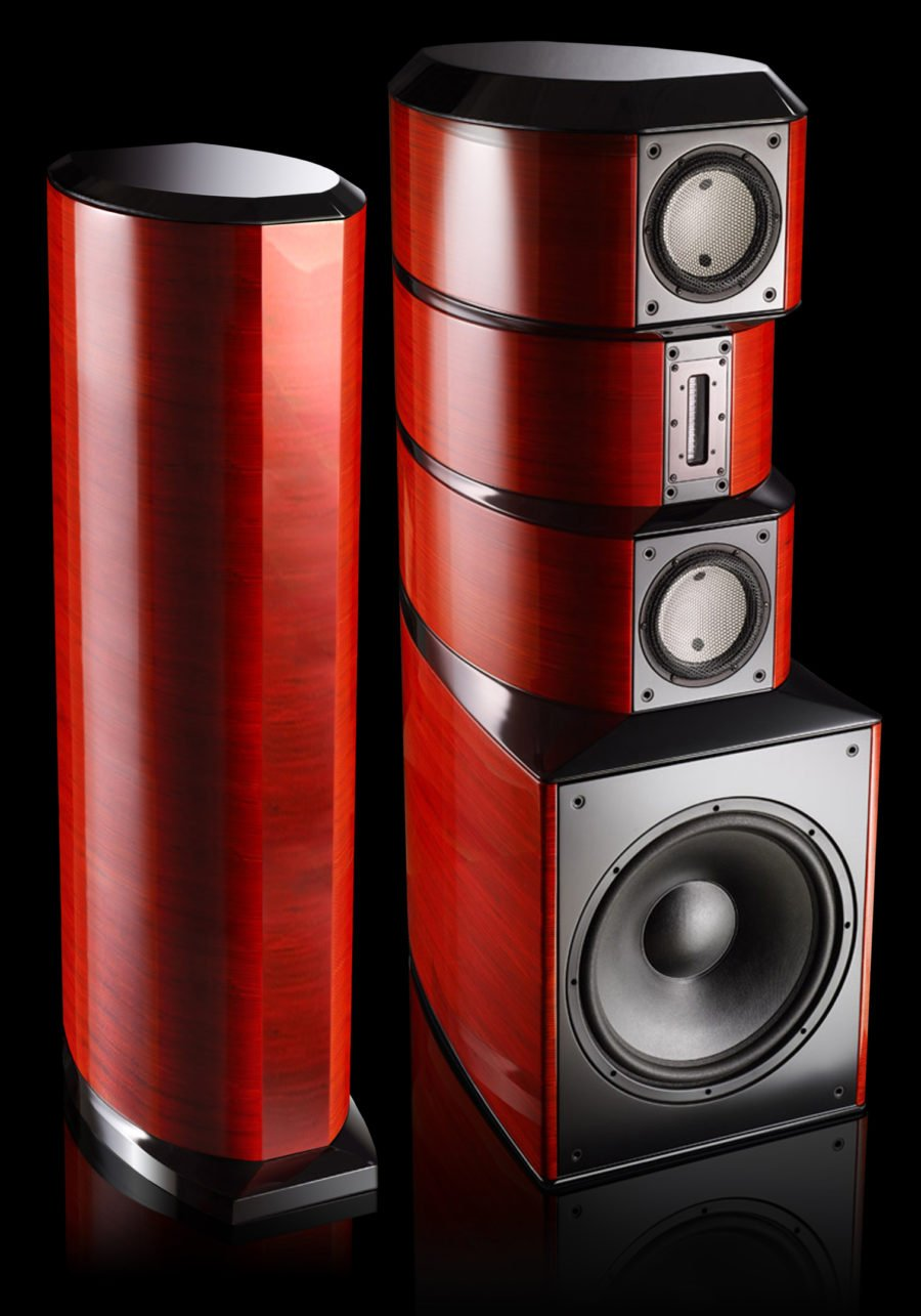 Evolution Acoustics MMTwo and MMThree Loudspeakers