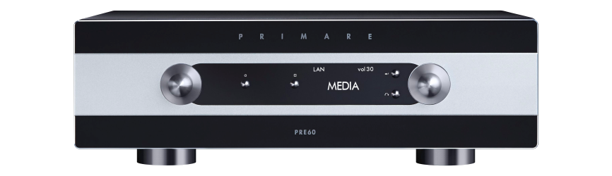 Primare 60 Series Preamplifier and Amplifier