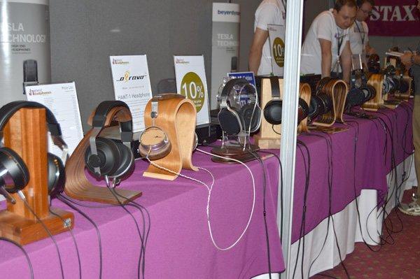 Headphones galore