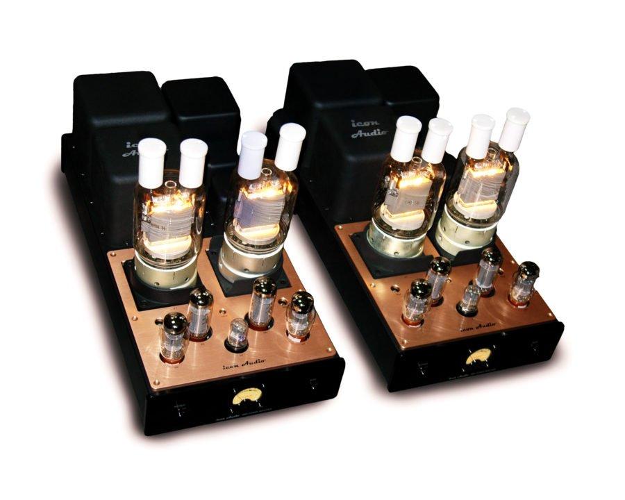Icon Audio Develops 200 Watt Amp Using GU81 Valves