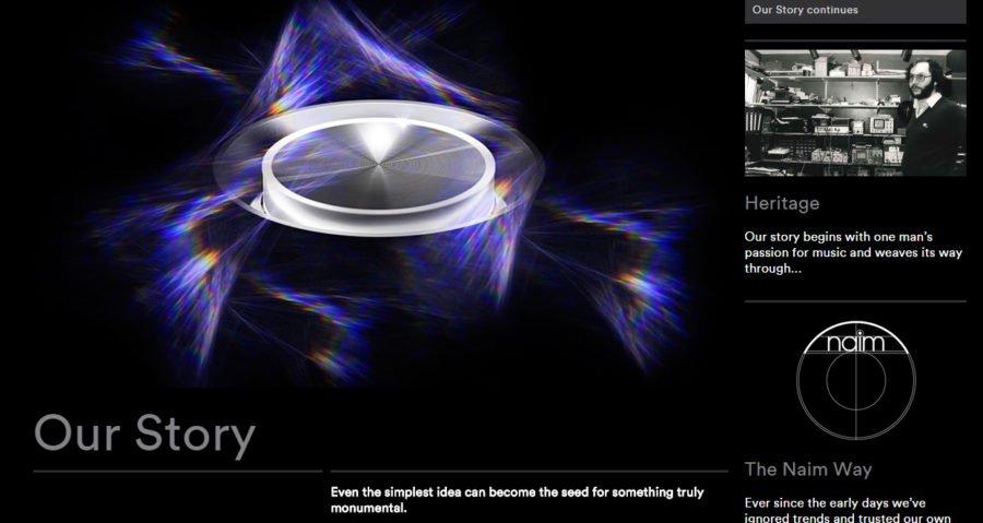 New Dynamic Website For Naim