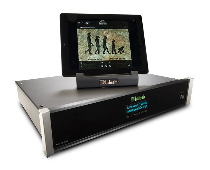 McIntosh Introduce New Streamer - The MB100 Media Bridge