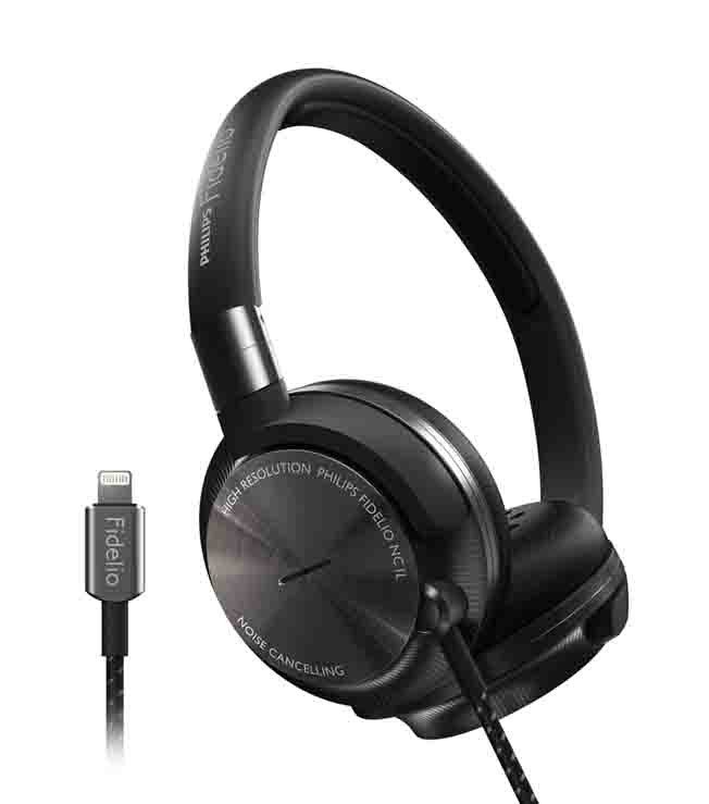 Phillips Fidelio Active Noise Cancelling Headphones