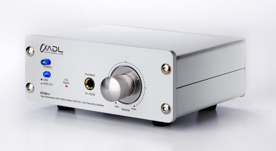 Alpha Design Labs GT40Alpha DAC, Phono and D/A Converter