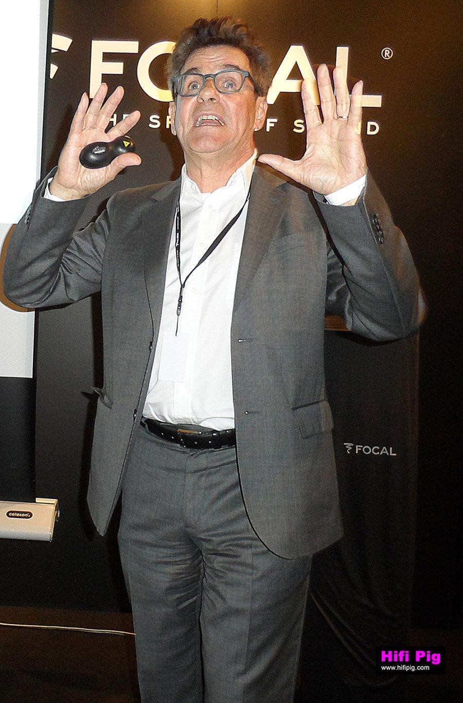Focal's Gérard Chrétien