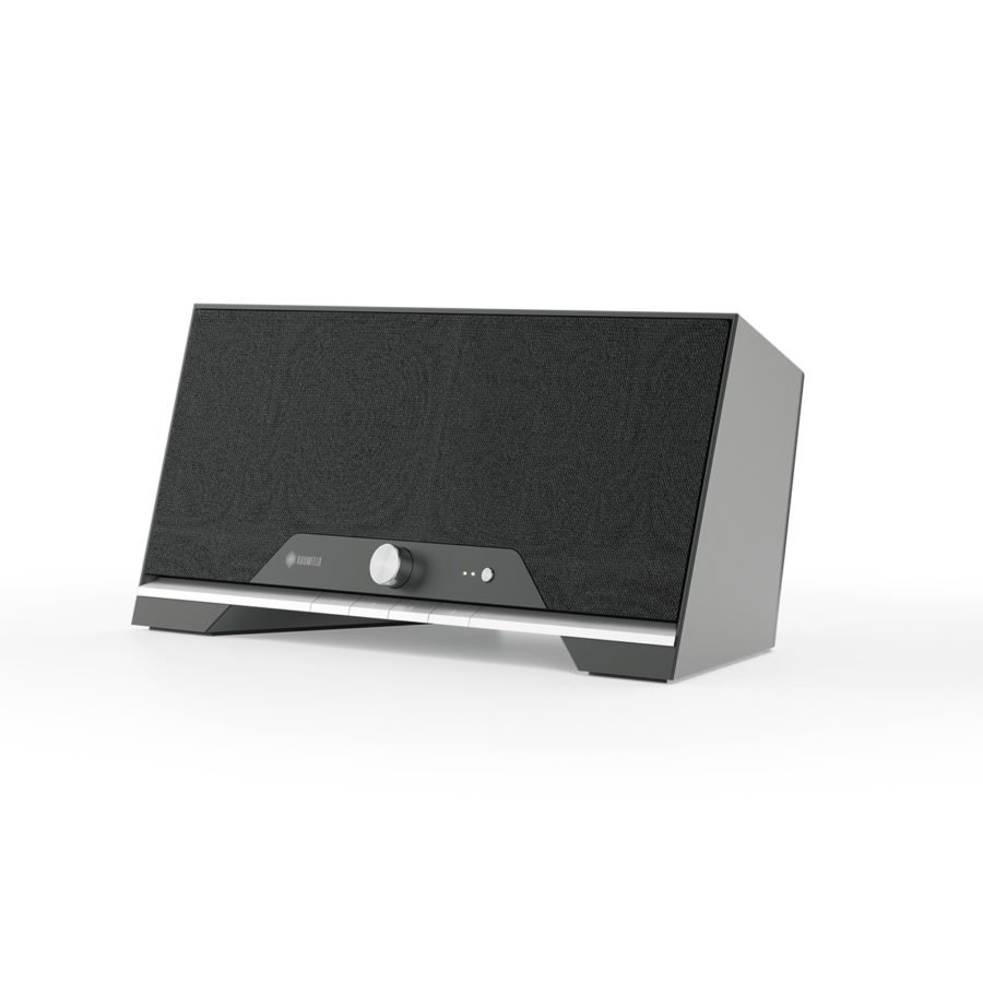 Raumfeld Loudspeakers Now In Black