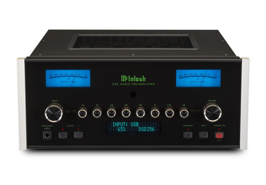 McIntosh C52 Preamplifier Announced