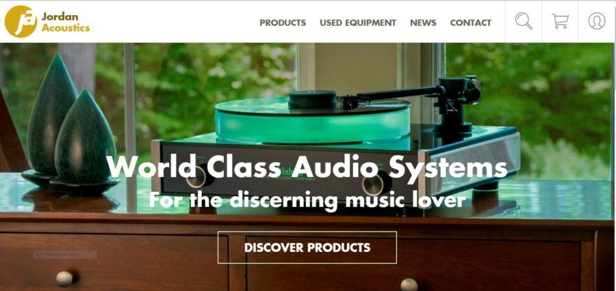 Jordan Acoustics Have a New Website
