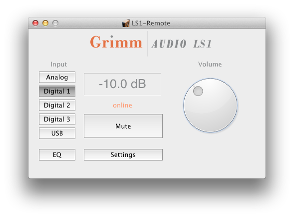 Update For Grimm Control Software