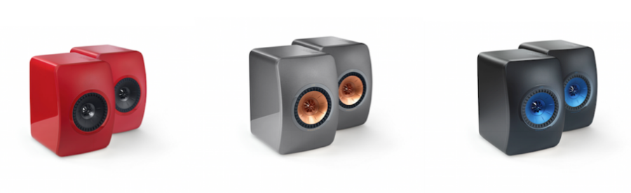 New Colours for KEF LS50