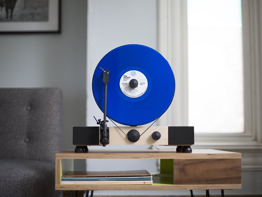 The Record Player That Plays Your Vinyl Vertically