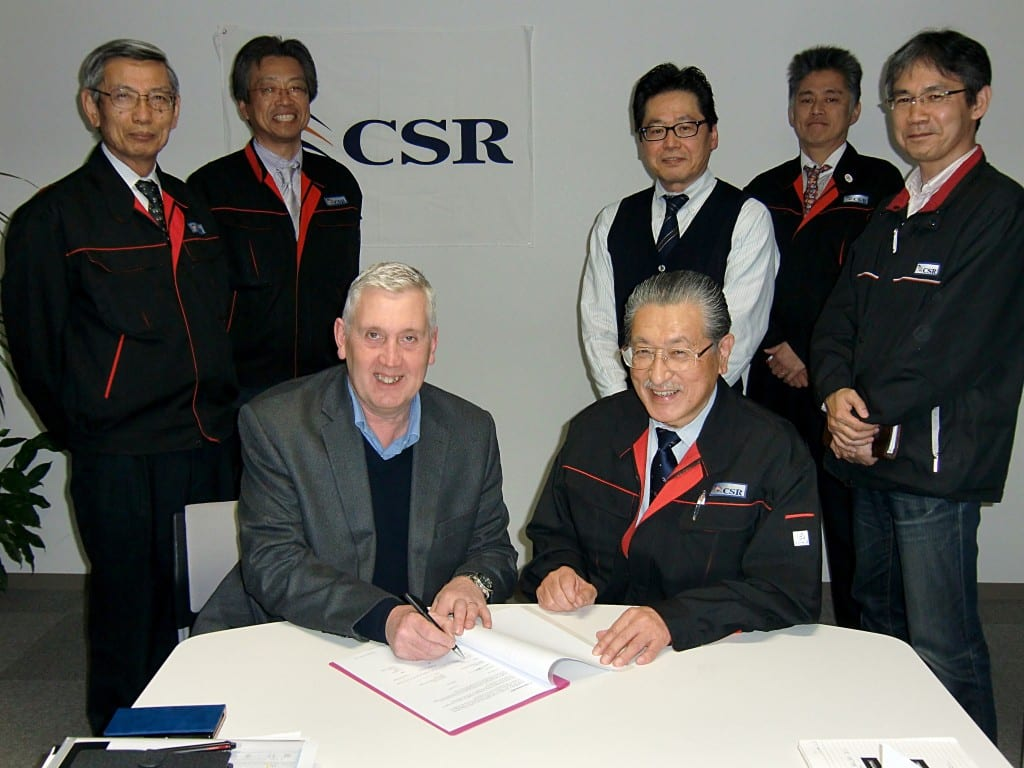 CSR Japan Signing with Miles