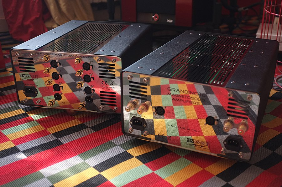 Taking The Grandinote Proemio Preamp and Silva Amp Out Their Boxes