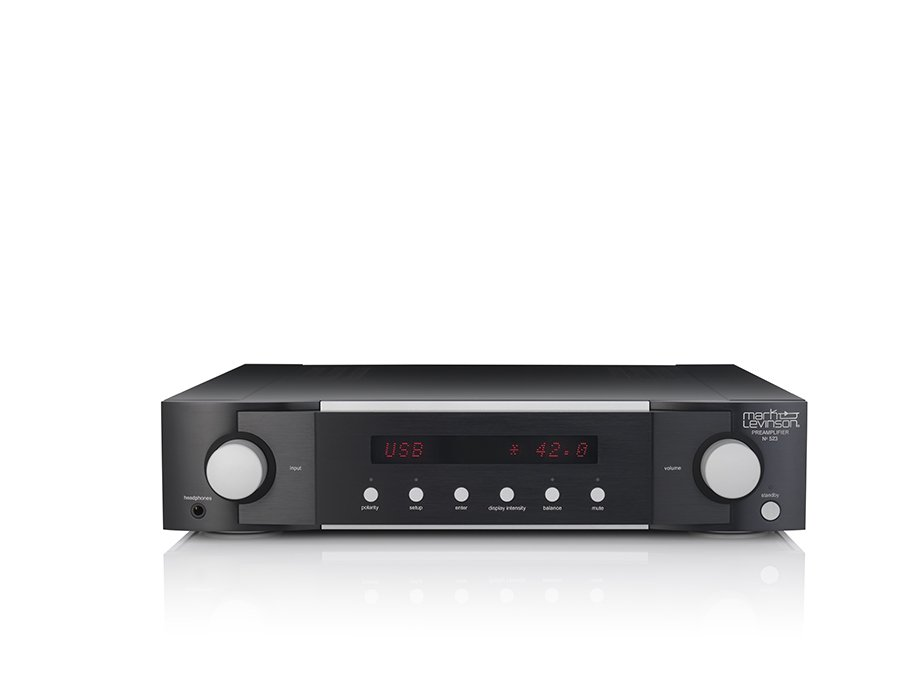 Mark Levinson Introduces № 523 Dual-Monaural Pure Path Preamplifier at High End