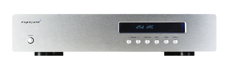 2010s2 DSD DAC Titanium - Front
