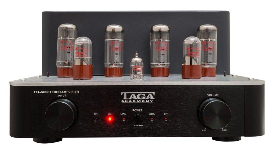 TAGA Harmony TTA-500 Valve Amplifier Released   Hifi Pig