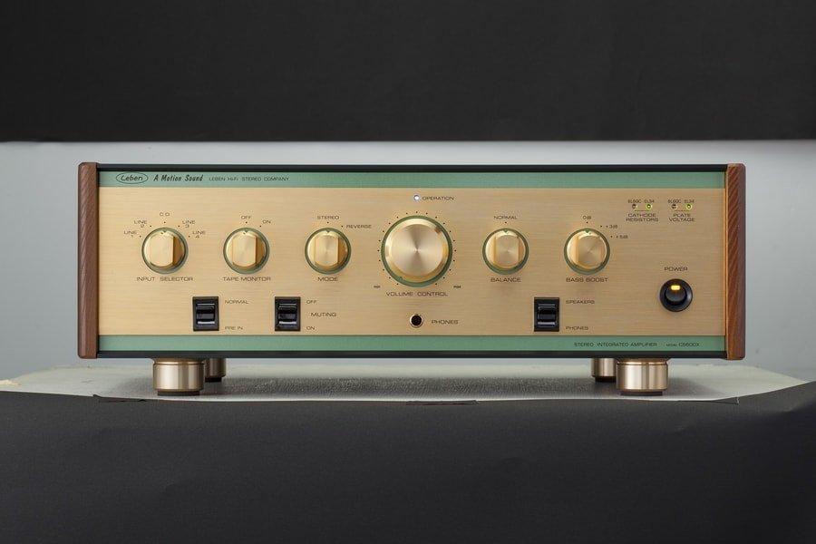 Leben CS600X Stereo Integrated Valve Amplifier | Hifi Pig