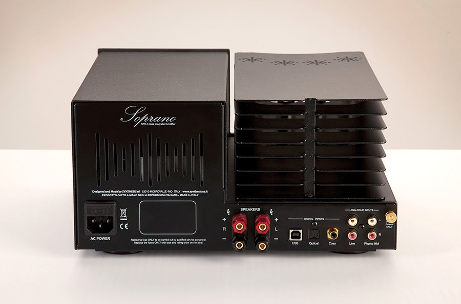 Synthesis Soprano Integrated Valve Amplifier With DAC | Hifi Pig