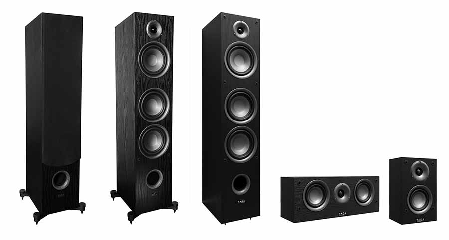 Audio Video Series Speakers From TAGA Harmony