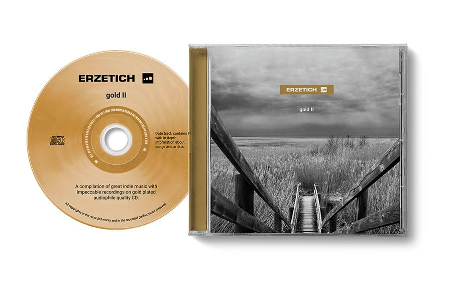 Erzetich Audio's Second Gold-Plated CD 'Gold II'