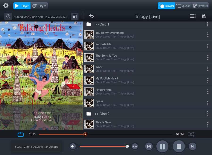 Melco EX Screenshot