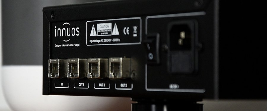 Innuos PhoenixNET Audiophile-Grade Network Switch