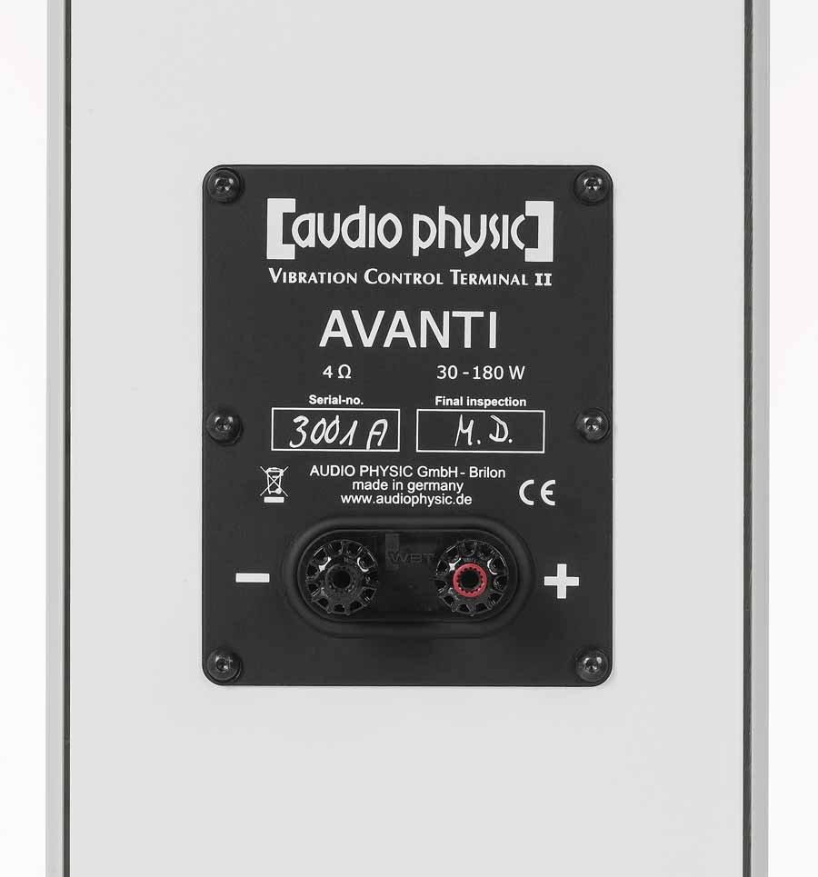 Audio Physic Avanti 35 Loudspeakers Review 1