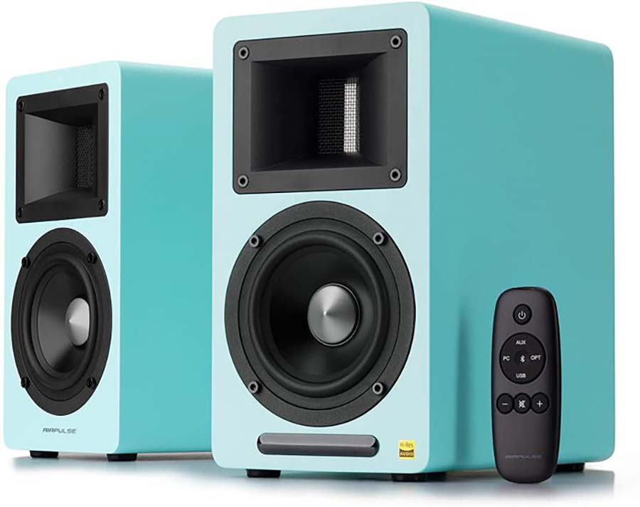 Electric Blue Airpulse A80 Active Speakers