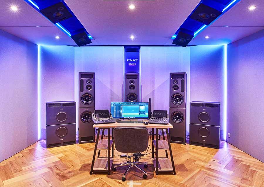 PMC Studio London dolby atmos