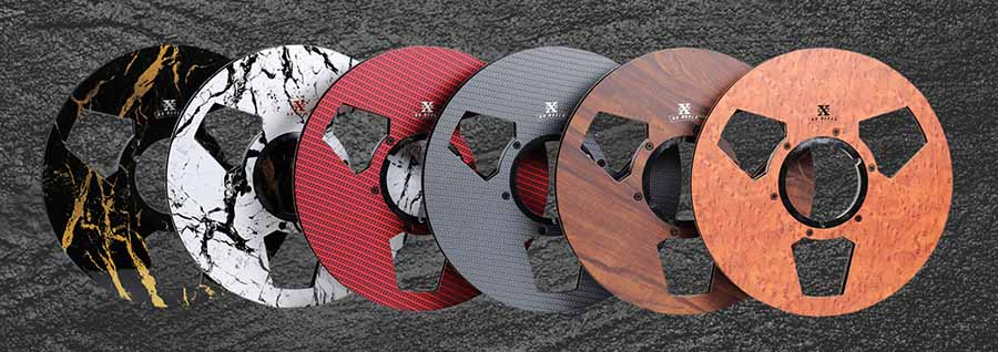 RX Reels Carbon Fibre Tape Reels