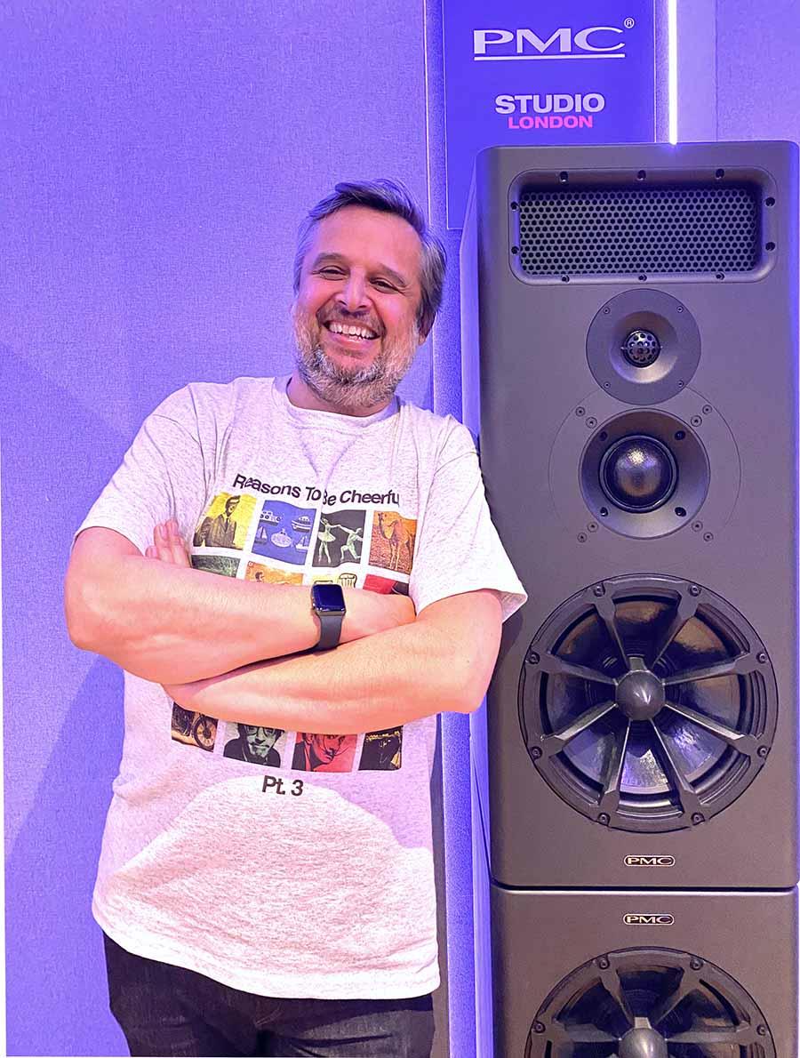 Heff Moraes Joins PMC Pro Audio