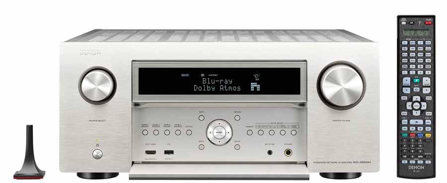 Denon AVC-X8500HA And Marantz AV8805A AV Amplifiers