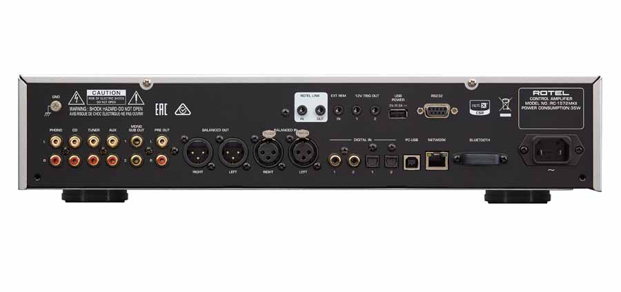 Rotel RC-1590MKII And RC-1572MKII Stereo Preamplifiers