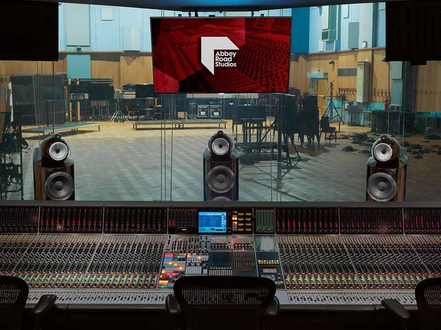 Abbey Road Studios And Bowers & Wilkins Extend Partnership