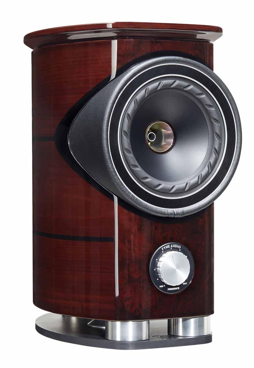 Fyne Audio F1-5 loudspeakers side angle