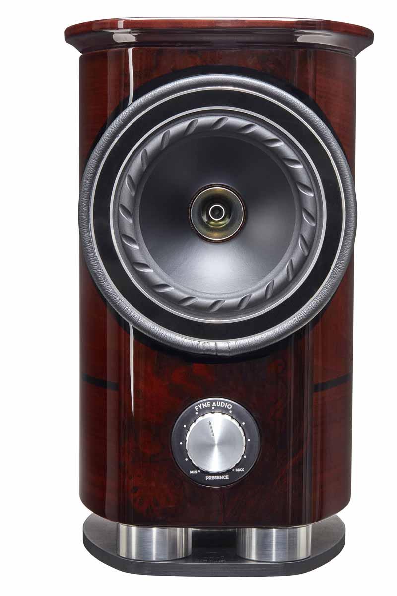 Fyne Audio F1-5 loudspeakers Front view
