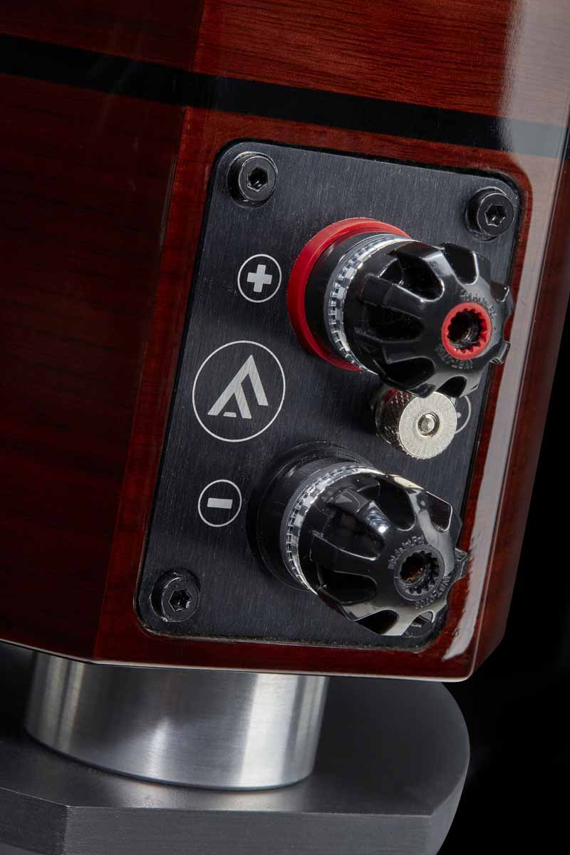 Fyne Audio F1-5 loudspeakers binding posts