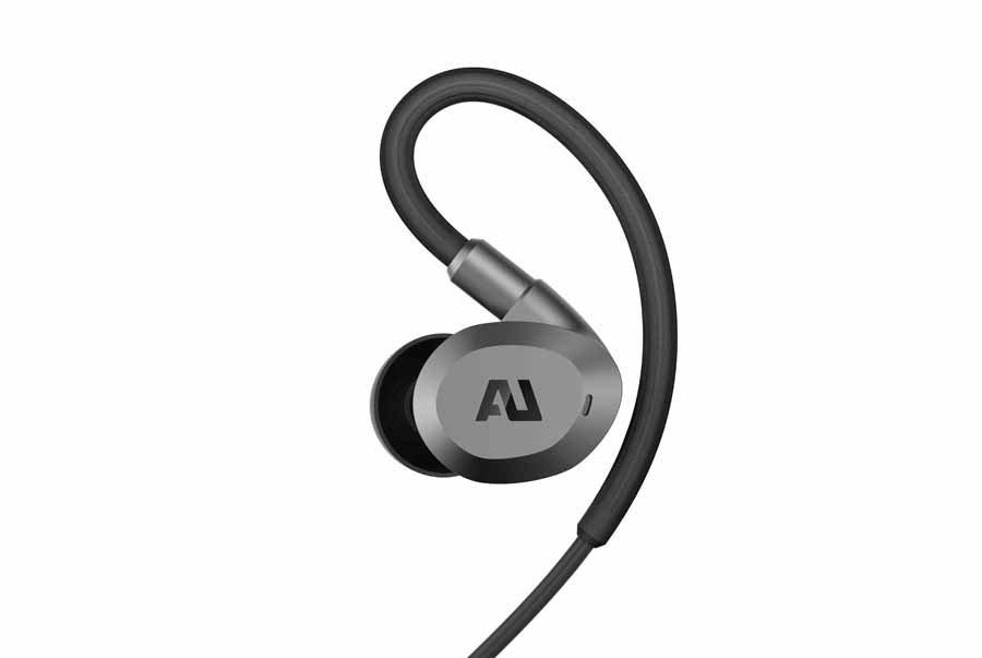 Ausound Flex ANC earphones close up