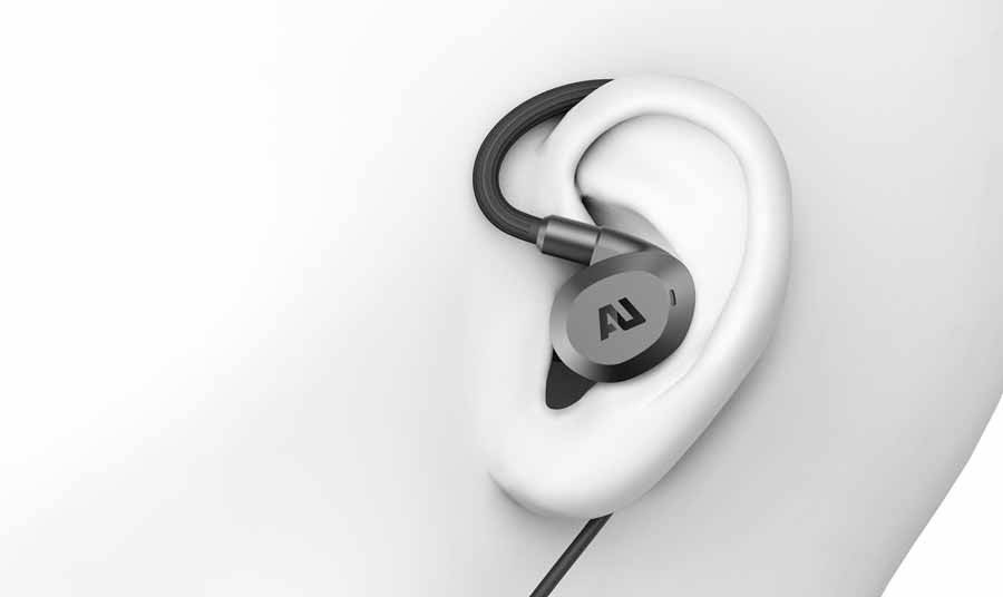 AuSounds Flex ANC over ear arrangement