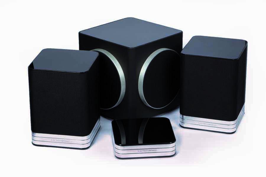 Electrocompaniet Tana SL-2 Tana L-2 And Sira L1 Wireless Speaker/Streamer And Subwoofer